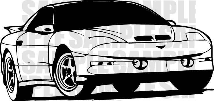 Trans am clipart » Clipart Portal svg free library