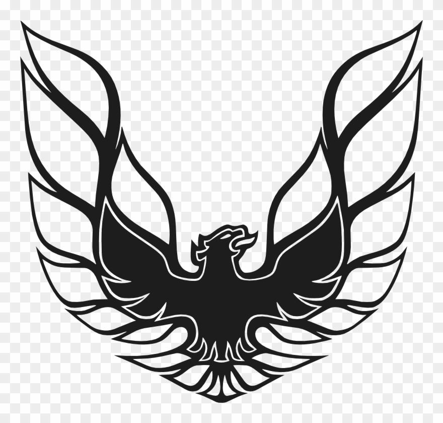Firebird Trans Am Stencil - Trans Am Firebird Logo Clipart ... jpg library stock