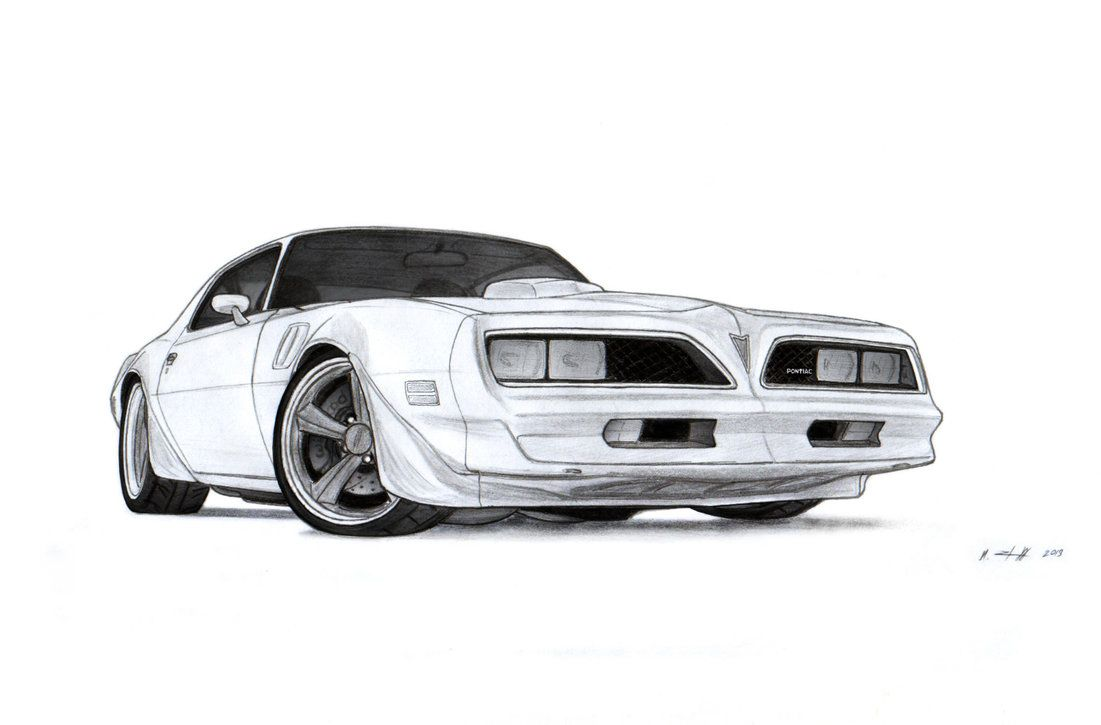 1978 Pontiac Firebird Trans AM Drawing by Vertualissimo ... picture royalty free stock