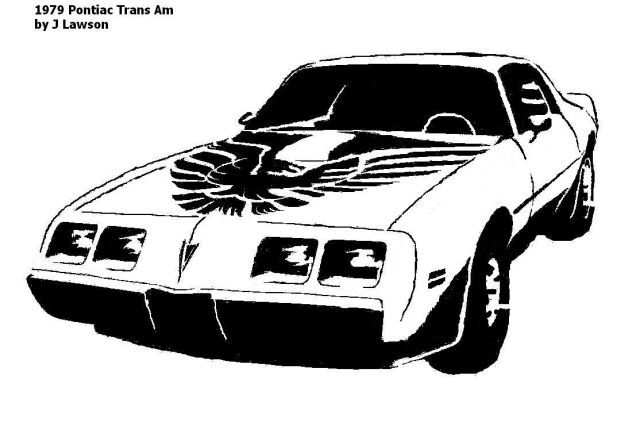 1979 Pontiac Trans Am.pattern - Transportation - User ... image royalty free download