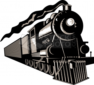 Transcontinental railroad clipart png download Railroad History in the Valley png download