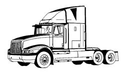 Transfer truck clipart svg royalty free stock Clipart semi trailer - ClipartFest svg royalty free stock