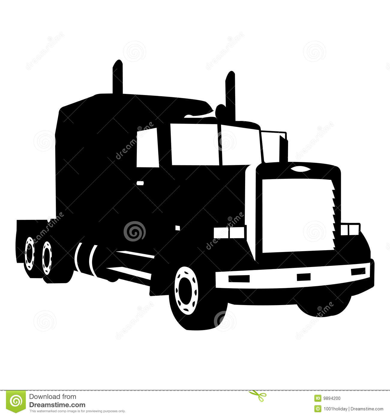 Transfer truck clipart jpg Semi Truck Silhouette Clipart - Clipart Kid jpg