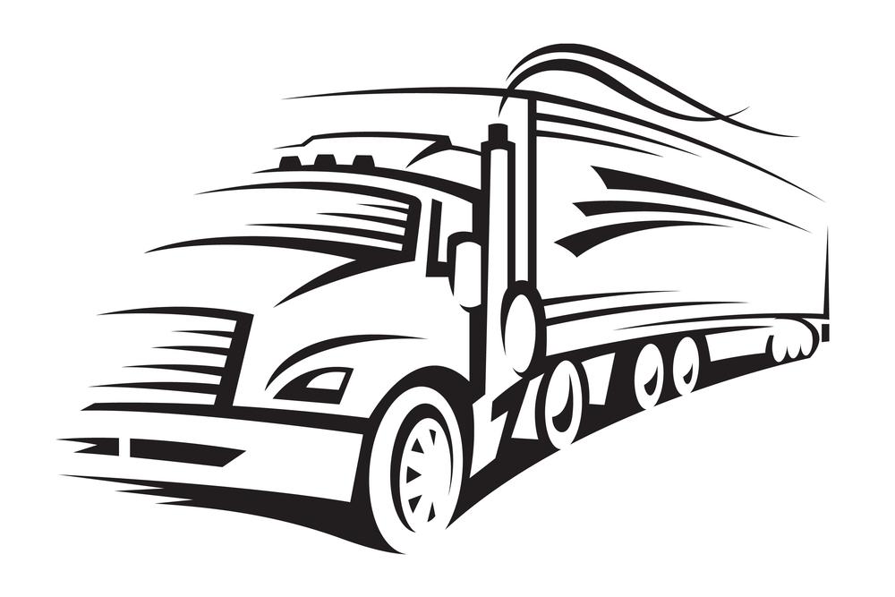 Transfer truck clipart jpg free download Semi Truck Clip Art – Clipart Free Download jpg free download
