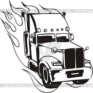 Transfer truck clipart clip art stock Semi Truck Vector Clipart - Clipart Kid clip art stock