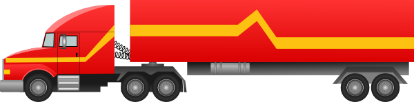 Transfer truck clipart vector royalty free Semi Truck Clipart - Clipart Kid vector royalty free