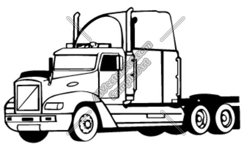 Transfer truck clipart svg transparent Semi Truck Clipart Black And White   Clipart Panda - Free Clipart ... svg transparent