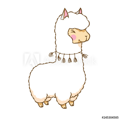 Transferred clipart jpg Llama clipart - Buy this stock vector and explore similar ... jpg