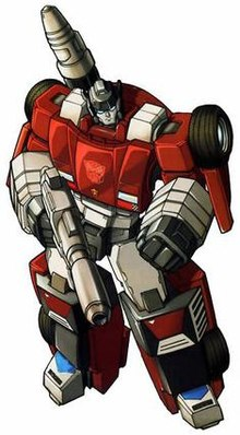 Transformers chase upper body clipart freeuse download Sideswipe (Transformers) - Wikipedia freeuse download
