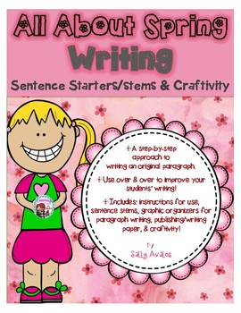 Spring Writing Sentence Starters/Stems, Transitions, Spring ... jpg freeuse stock