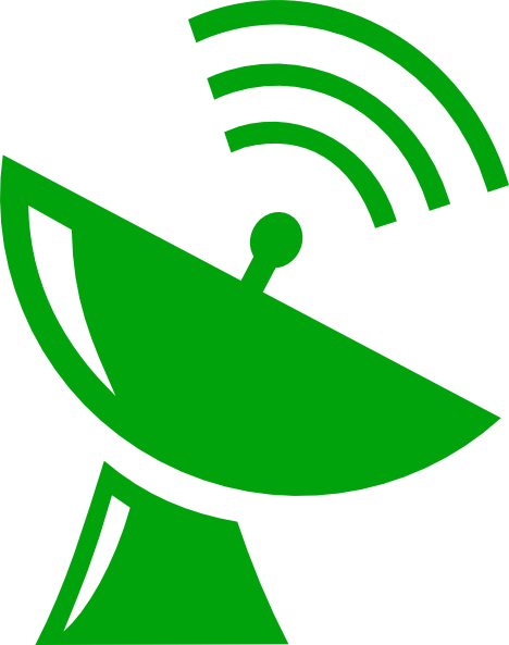 Satellite Dish Clip Art at Clker.com - vector clip art ... clipart