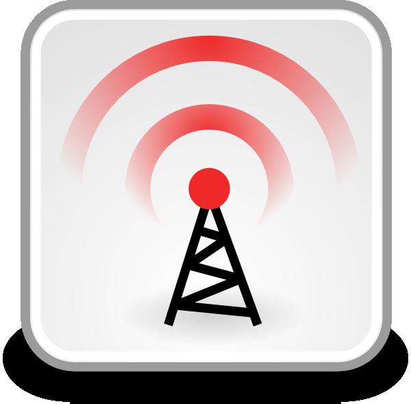 Network Wireless Clip Art at Clker.com - vector clip art ... image free