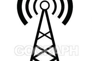 Transmitter clipart 1 » Clipart Portal jpg black and white