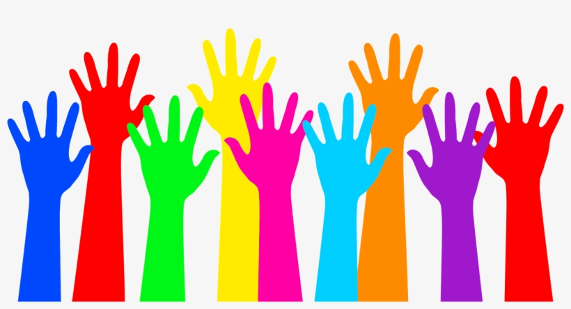 Transparant clipart helping hands picture freeuse download Helping Hands - Clipart Hands Up - Free Transparent PNG ... picture freeuse download
