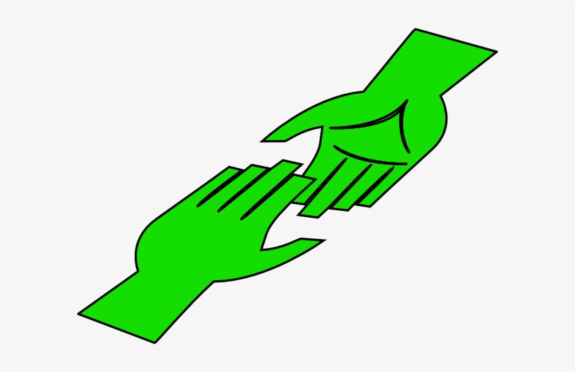 How To Set Use Mint Green Hands Clipart - Helping Hands ... library