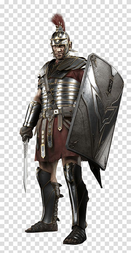 Transparency clipart soldier with shield clip art transparent download Man wearing brown and gray armor with shield, Roman Soldier ... clip art transparent download
