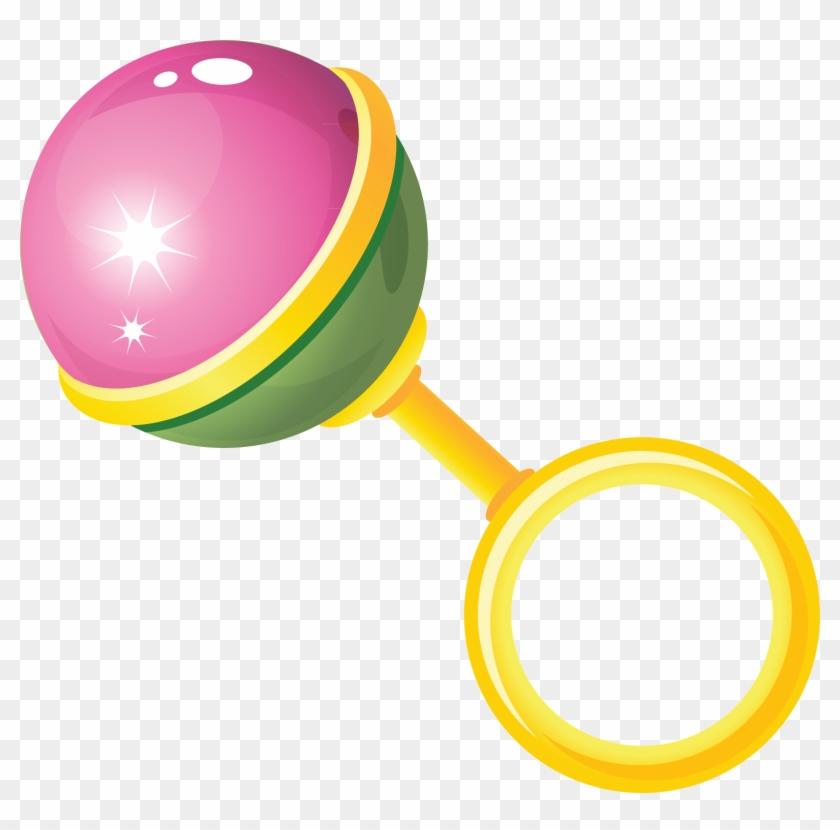 Toy Baby Rattle Clip Art - Погремушка Вектор Пнг, HD Png ... picture transparent download