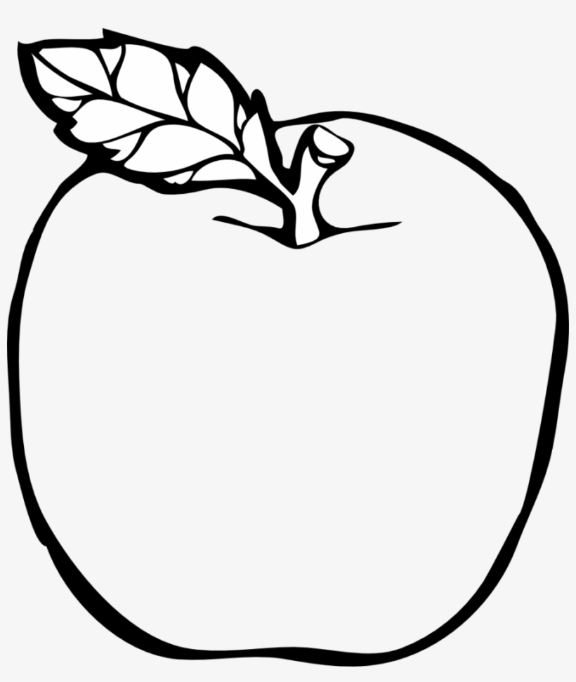 Transparent background black and white apple clipart clip art transparent library Clipart Picture Of Apple Black And White Many Interesting ... clip art transparent library