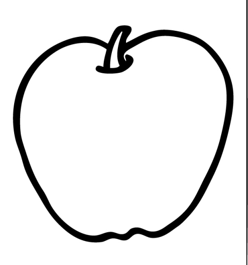 Transparent background black and white apple clipart jpg royalty free download Free Apples Background Cliparts, Download Free Clip Art ... jpg royalty free download