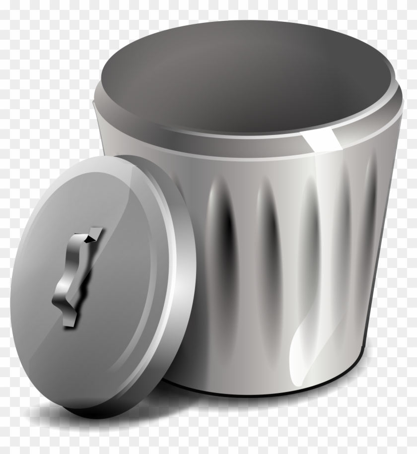 Trash Can Png - Open Garbage Can Clip Art, Transparent Png ... png royalty free download