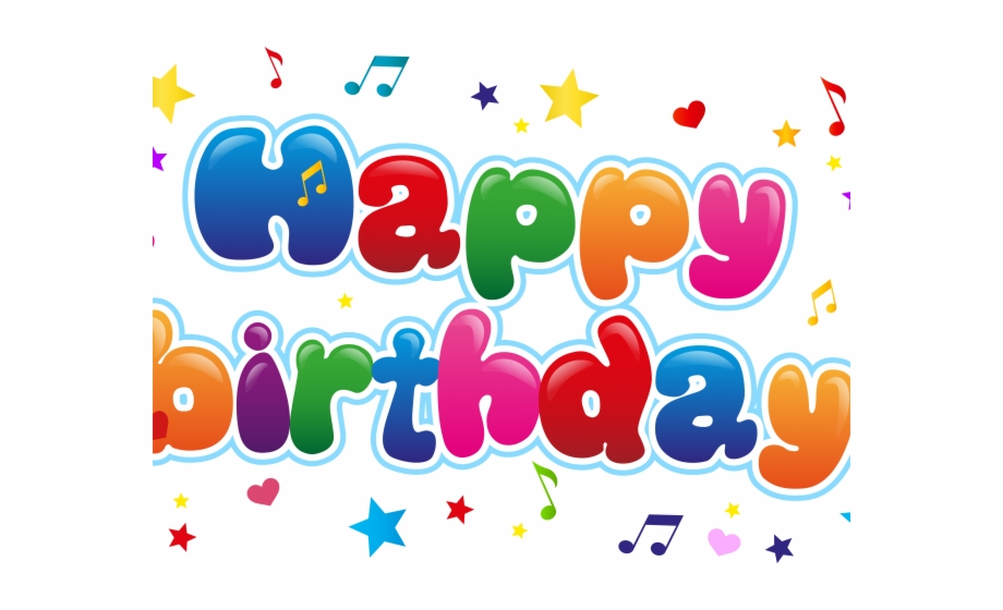 Happy Birthday Clipart Transparent Background Free PNG ... clipart library stock