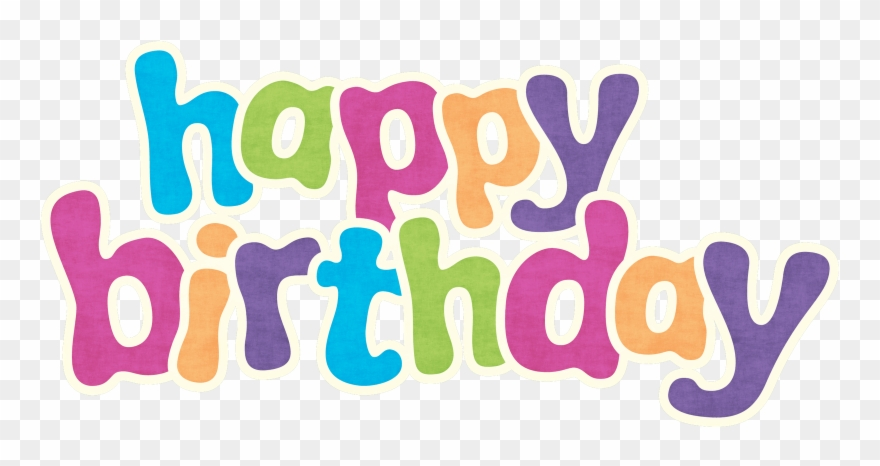 Happy Birthday Png - Transparent Background Happy Birthday ... jpg transparent stock