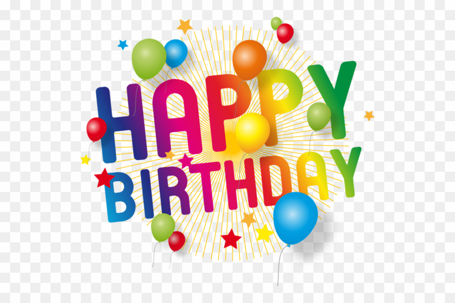 Transparent background happy birthday clipart picture transparent download Happy Birthday Design Text PNG Birthday Clipart download ... picture transparent download