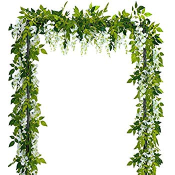 Transparent background ivy strand clipart clip free stock Amazon.com: DearHouse 4Pcs 6.6Ft/Piece Artificial Flowers ... clip free stock