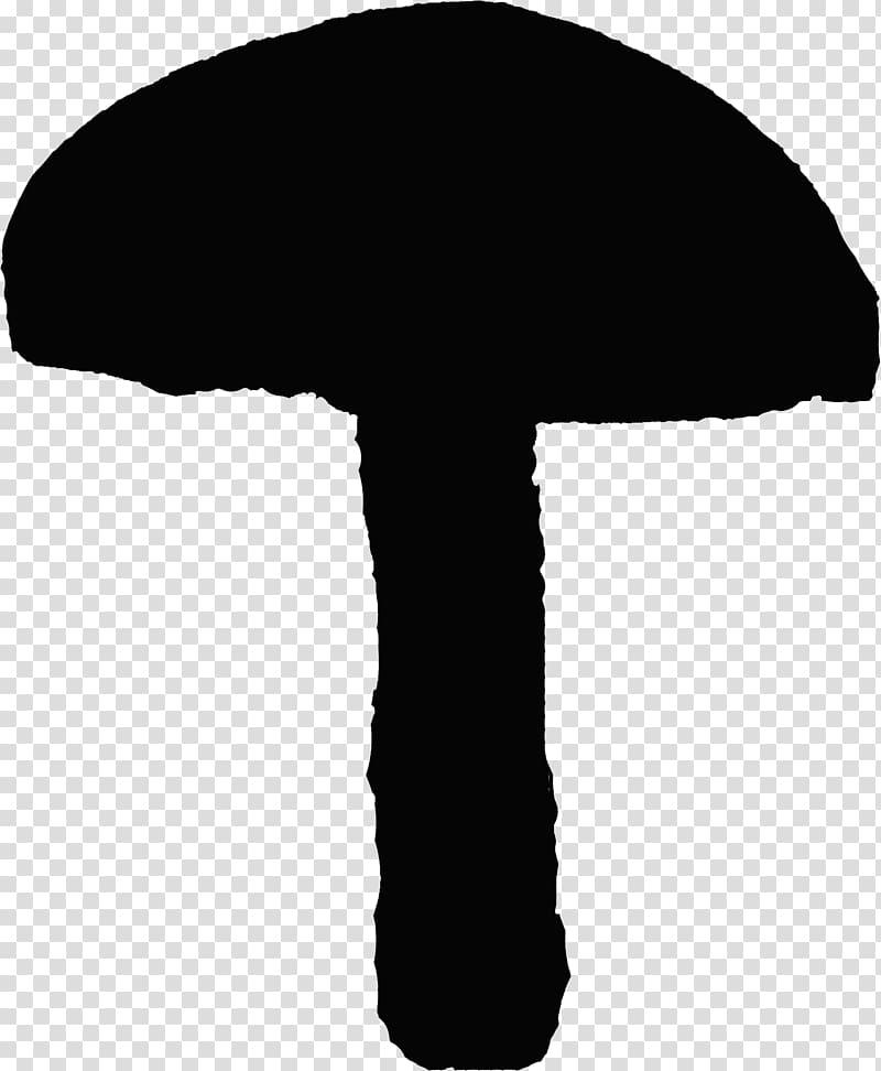 Silhouette Fungus Mushroom Slime mold , fungi transparent ... image black and white