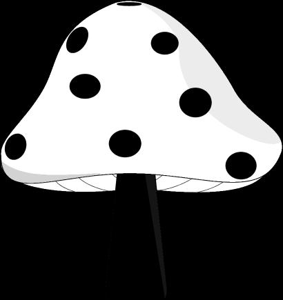 Black and white mushroom clipart kid 4 - ClipartBarn royalty free stock