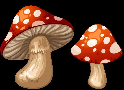 Mushroom Emoji Transparent Background - Clip Art Library jpg black and white stock