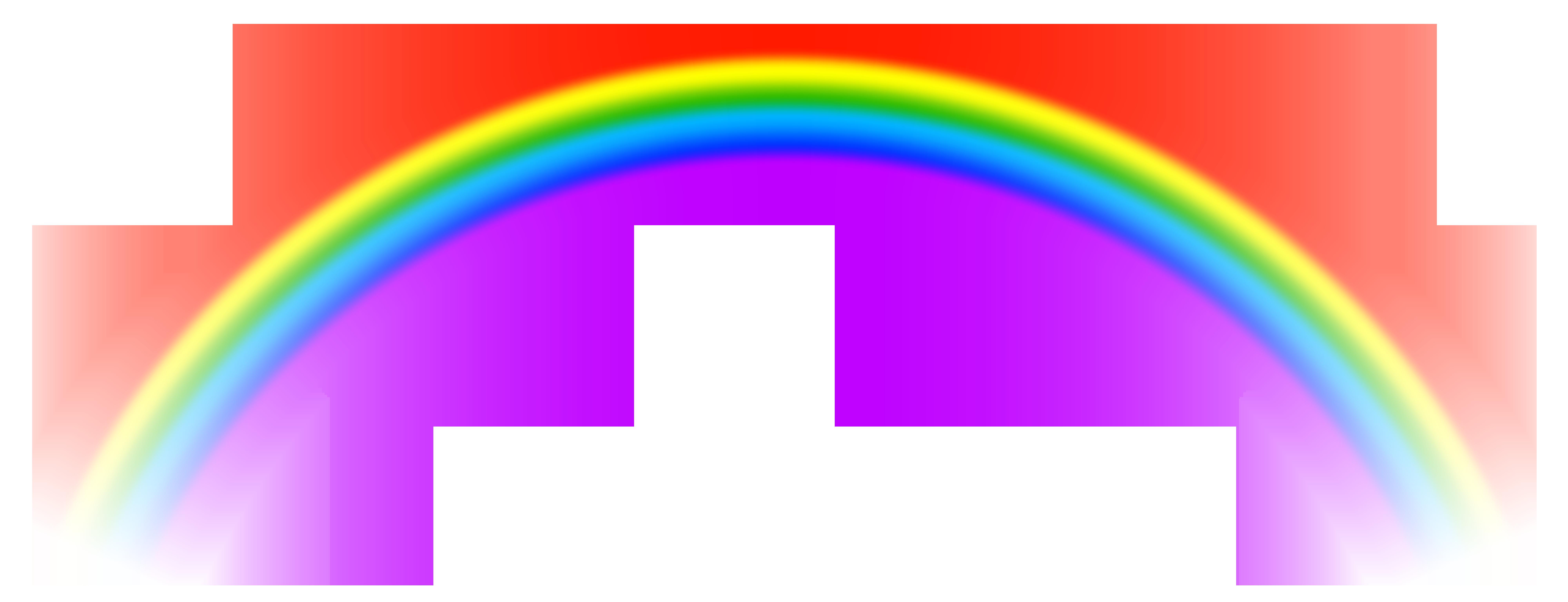 Transparent background rainbow clipart clip art freeuse library Transparent Rainbow PNG Free Clip Art Image | Gallery ... clip art freeuse library