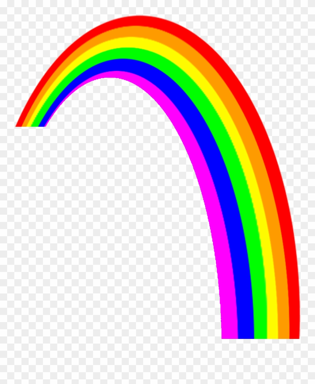 Transparent background rainbow clipart image download Rainbow Clip Art Clipart - Transparent Background Rainbow ... image download
