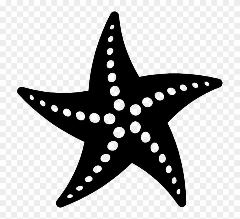 Transparent background silhouette starfish clipart picture freeuse download Png Starfish Black And White - Starfish Vector, Transparent ... picture freeuse download