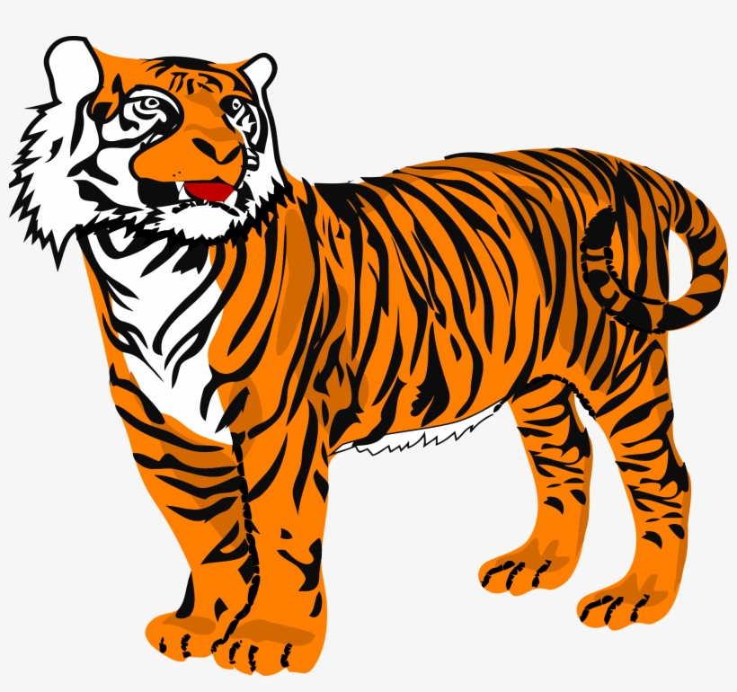 Transparent background tiger clipart clip art library download Tiger Png Clipart - Tiger Clipart - Free Transparent PNG ... clip art library download