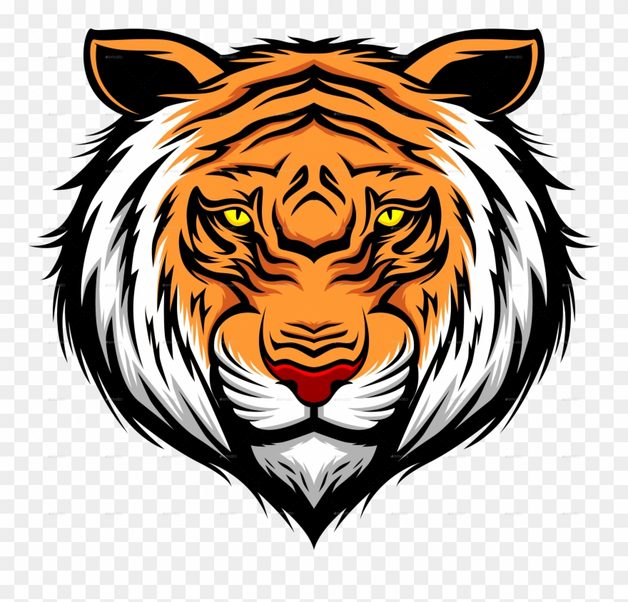Transparent background tiger head clipart vector royalty free Download Tiger Tattoos Free Png Transparent Image And ... vector royalty free