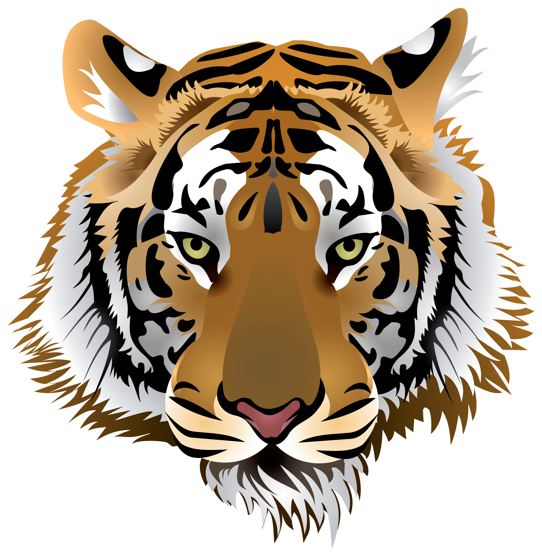 Transparent background tiger head clipart transparent library Tiger Head PNG Clip Art - Best WEB Clipart transparent library