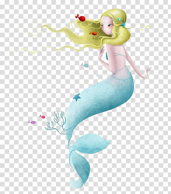 Transparent background watercolor mermaid clipart svg royalty free library Mermaid , Art Watercolor painting Drawing Illustration ... svg royalty free library