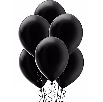 Transparent birthday black balloon clipart png free library Balloons Bunch PNG Black And White Transparent Balloons ... png free library