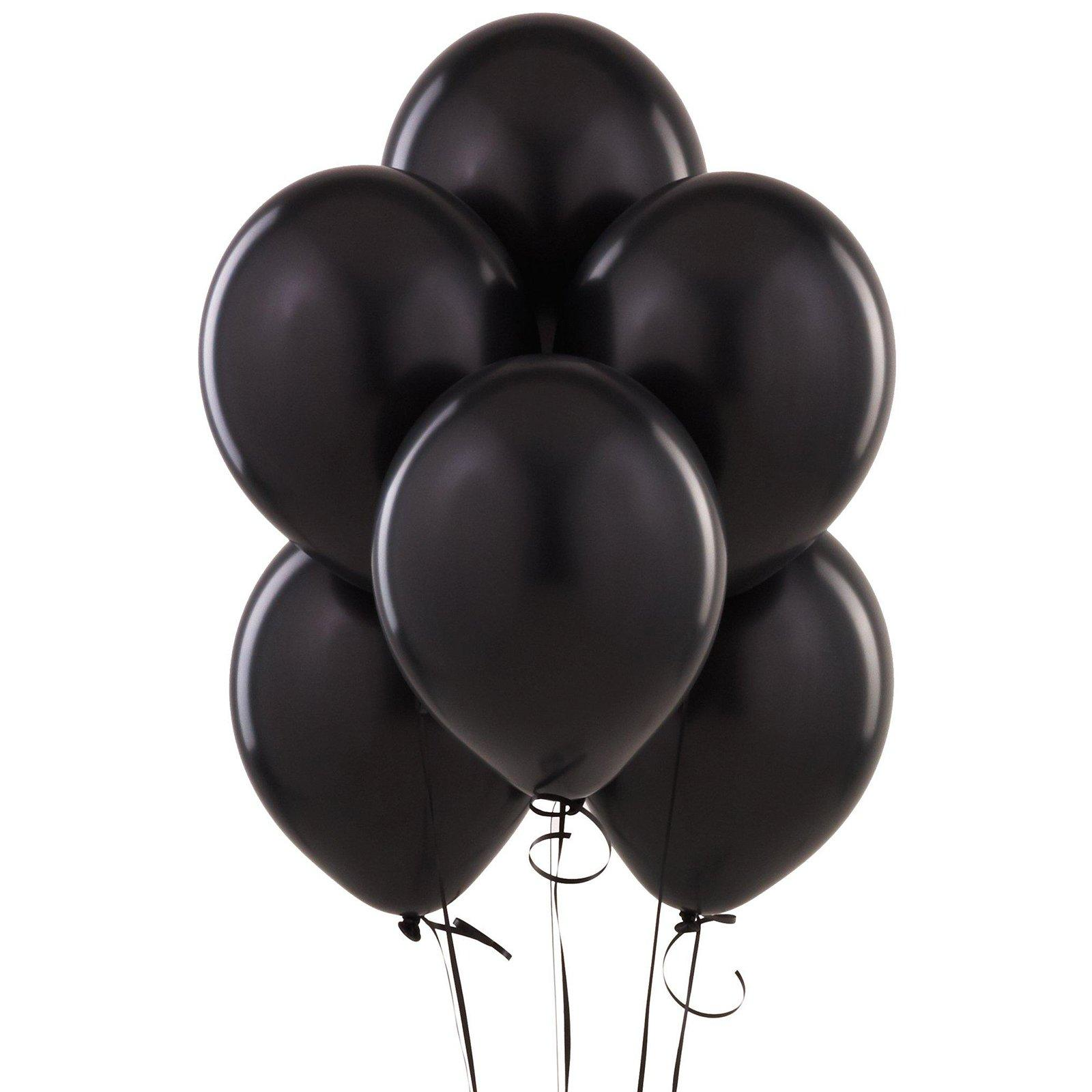 Transparent birthday black balloon clipart graphic black and white stock Balloons Bunch PNG Black And White Transparent Balloons ... graphic black and white stock