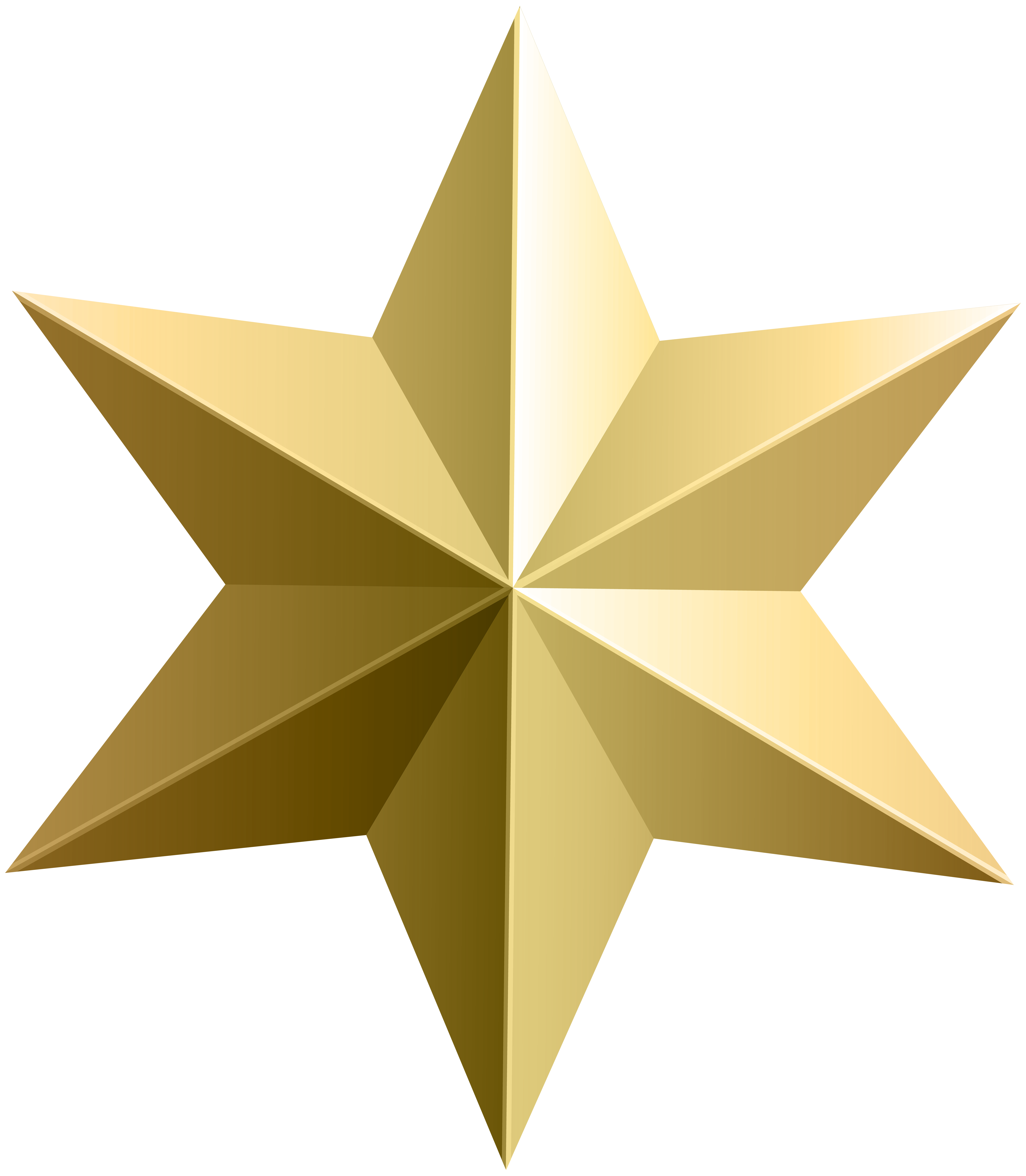 Transparent black and gold star clipart clip freeuse stock Gold Star Transparent PNG Clip Art Image | Gallery Yopriceville ... clip freeuse stock