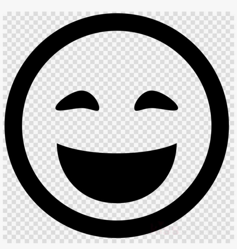 Library of transparent black and white worried emoji png ...