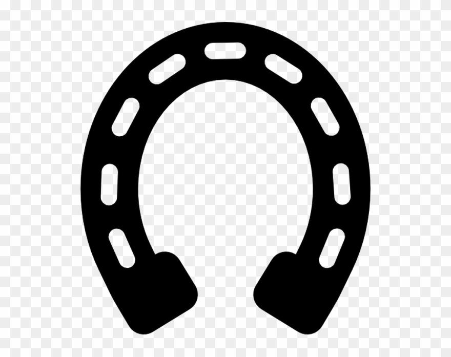 Horseshoe Transparent Black Clipart (#2957281) - PinClipart vector free