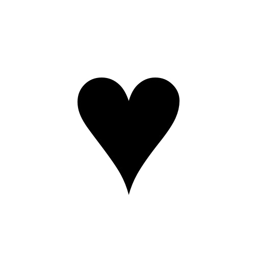 Black heart transparent clipart images gallery for free ... vector free