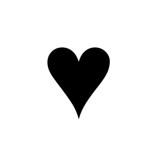 Transparent black clipart vector free Black heart transparent clipart images gallery for free ... vector free