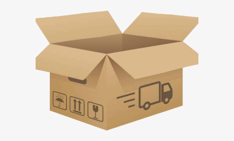 Transparent box clipart image free download Box Clipart Transparent Background - Open Cardboard Box Png ... image free download