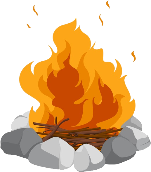 Transparent camp fire clipart picture black and white stock HD Bonfire - Campfire Transparent Background , Free ... picture black and white stock
