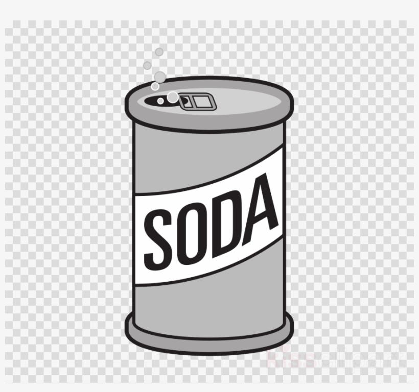 Transparent can clipart graphic download Soda Can Clip Art Clipart Fizzy Drinks Coca-cola Beer - Top ... graphic download