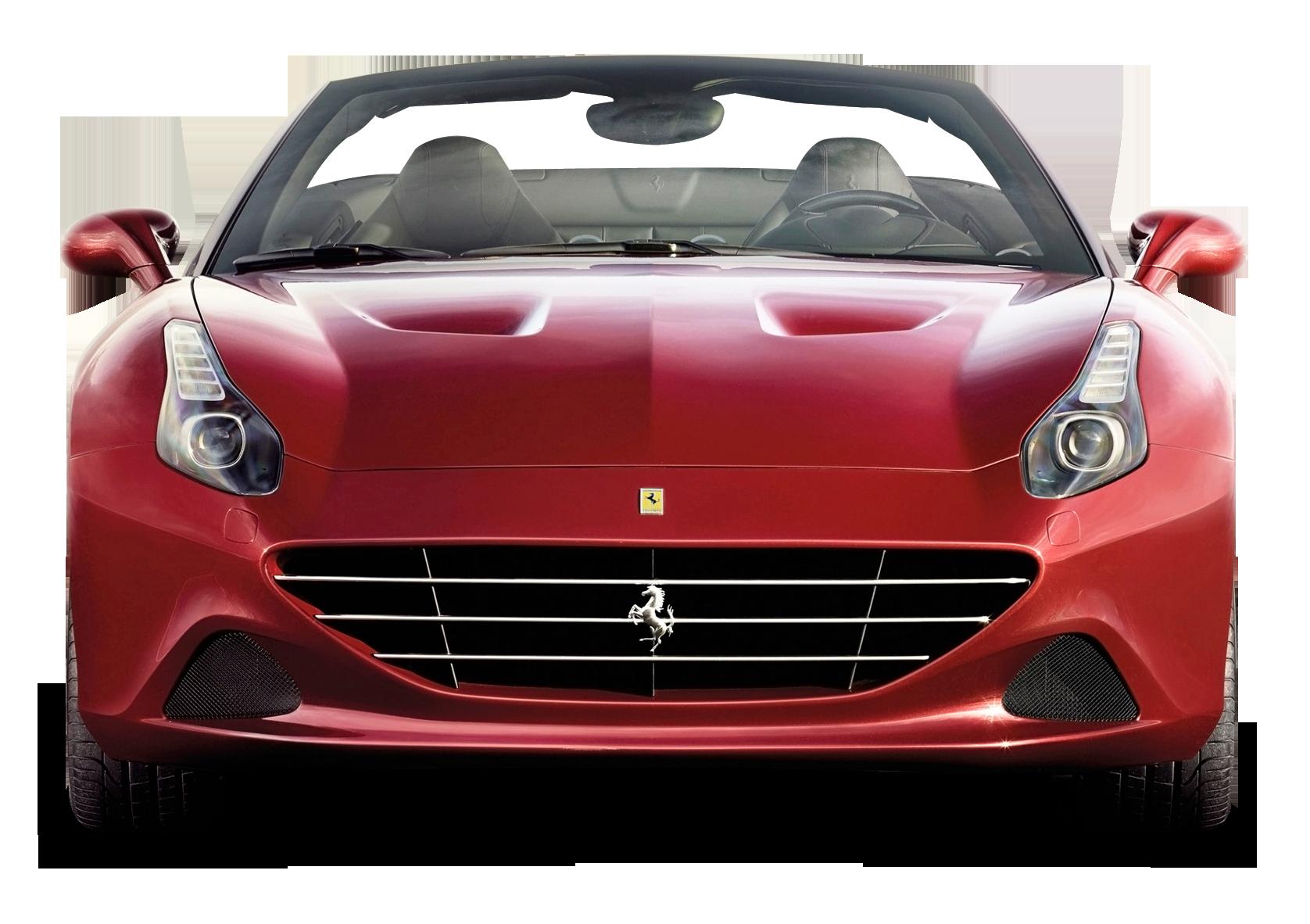 Transparent car front view clipart graphic free Geneva Motor Show Ferrari California T Sports car - Front ... graphic free