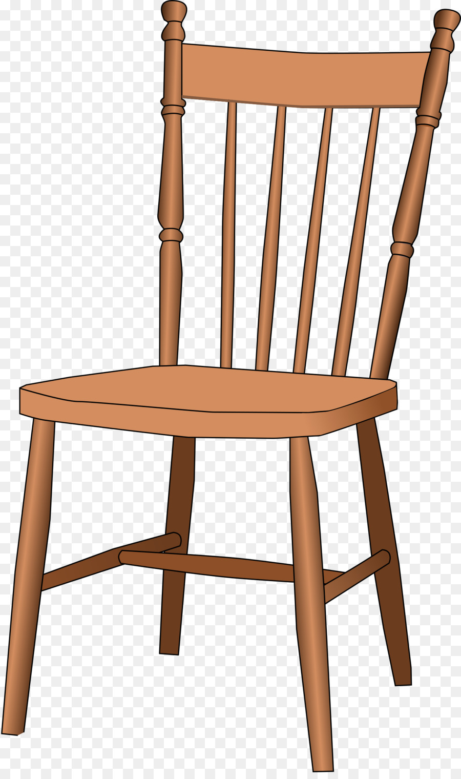 Transparent chair clipart clipart black and white stock Wood Table png download - 1433*2400 - Free Transparent Chair ... clipart black and white stock